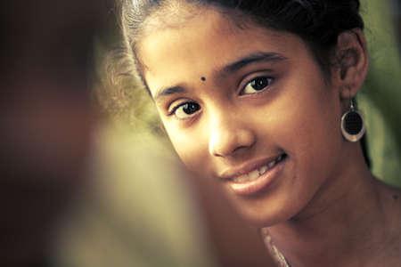fille indienne: Indian adolescente belle