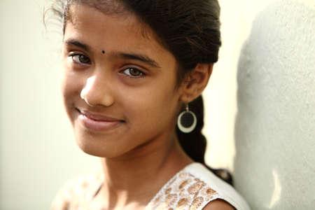 Indian beautiful teen girl  photo