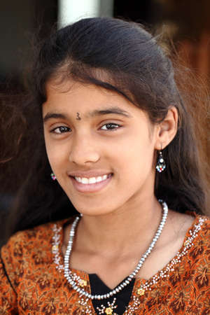 Indian beautiful teen girl  photo