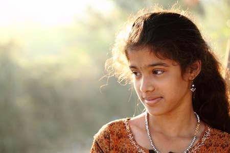 Indian beautiful teen girl Stock Photo - 13063458