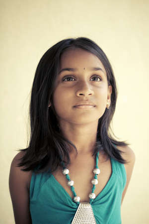 traditionally indian: Indian beautiful teen girl