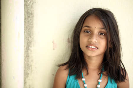 indian child: Indian beautiful teen girl
