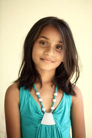ninos indios: Chica adolescente indio hermoso