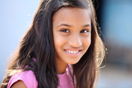 Indian beautiful teen girl  Stock Photo - 13063585