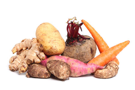 Verity of root vegetable photo