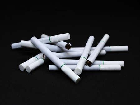 cigarette smoke background.