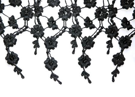 lace: encaje negro