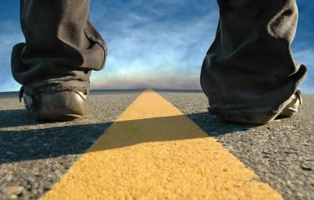destinos: de pie en el camino