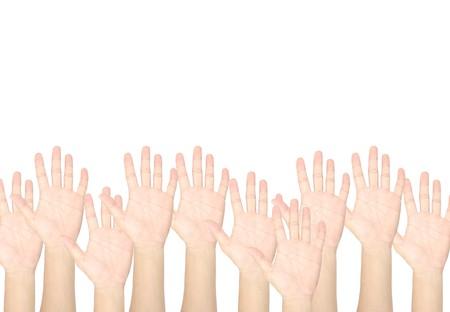 hand vote Stock Photo - 8277608