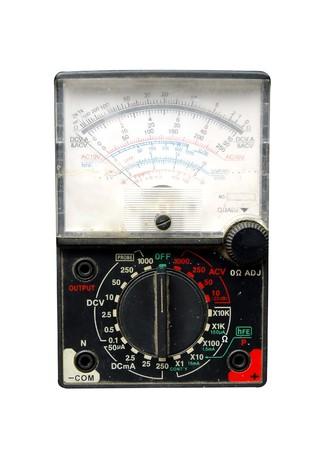 amp meter isolated Stock Photo - 8114367