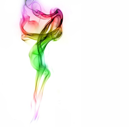 colorful smoke Stock Photo - 8114343