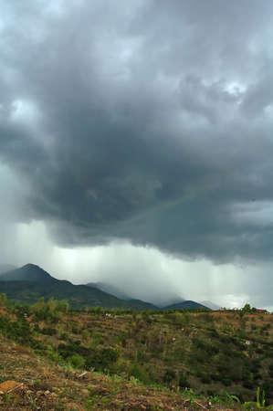 rainfall: rainfall Stock Photo