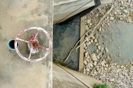 hydrology: water gate