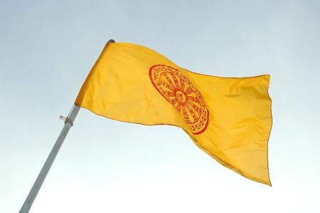 buddhist flag photo