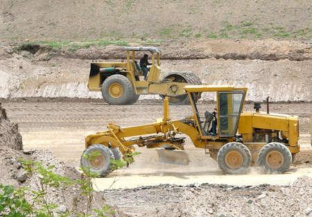 roadwork: road construction