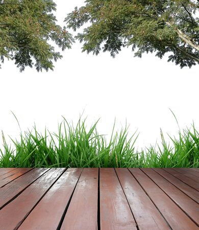 wooden terrace photo