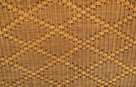 texture of rattan weave photo