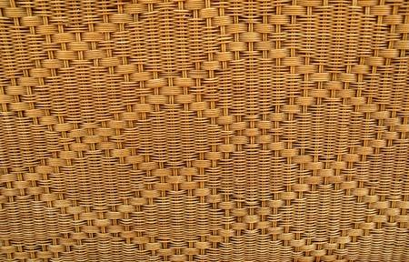 texture of rattan weave photo