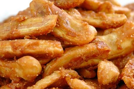 pl�tano frito Foto de archivo - 8907510