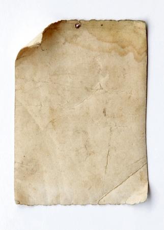quemado: papel viejo