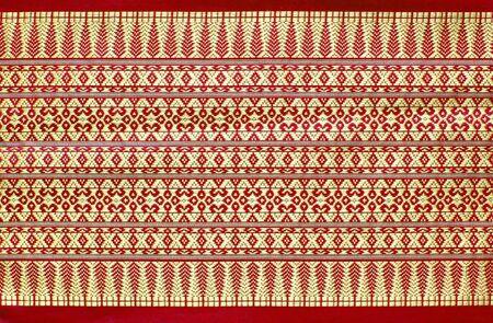 thai style fabric photo