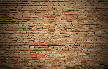 old red brick wall background Stock Photo - 9246249