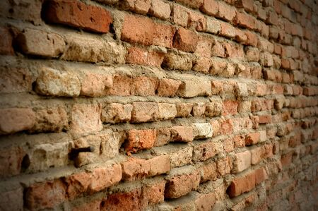 old red brick wall background  Stock Photo - 9246247