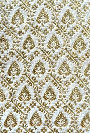 thailand fabrics: Background of Thai style fabric pattern