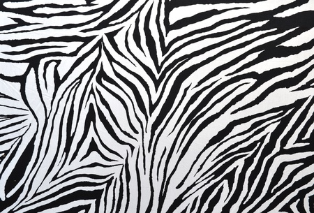 texture of zebra style fabric