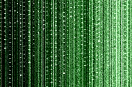 code computer: fondo verde matriz con c�digo de computadora Foto de archivo