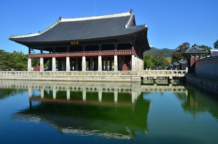 gyeongbokgung: gyeongbokgung palace, korean traditional architecture