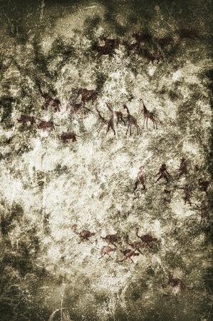 peinture rupestre: peinture préhistorique