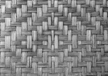 Texture of bamboo weave, can be used for background photo