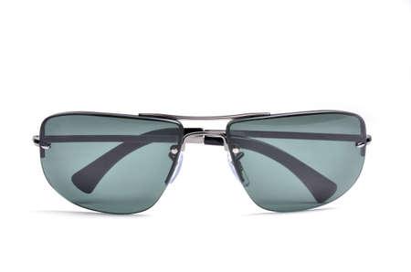 eyewear fashion: sunglasses isolated on white background Stock Photo