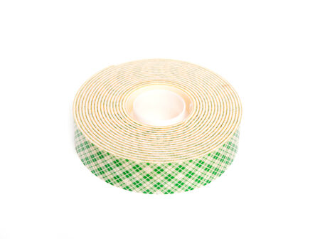 sided: double sided tape isolated on white background