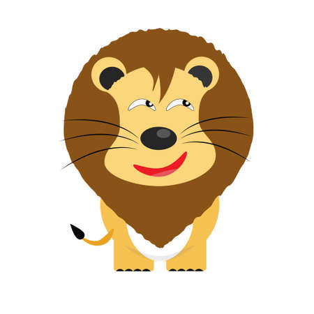 tricky: tricky lion gartoon character vector