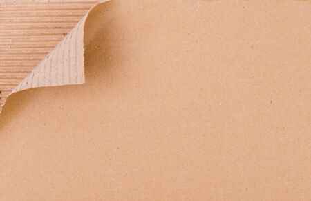 textured of brown paper box use for background