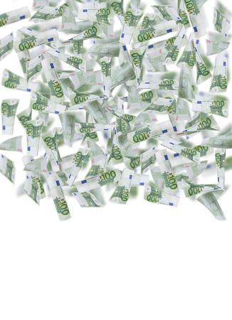 billets euro: une centaine d'euro-obligations cadre photo