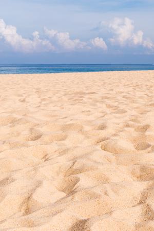 Abstrakt Sand Textur Muster Strand Sand Hintergrund Standard-Bild - 58504847