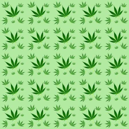 marijuana leaves seamless pattern wall paper background