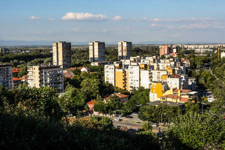 restored: Cityscape View of Plovdiv