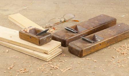 planer: Hand planer used wood finishing