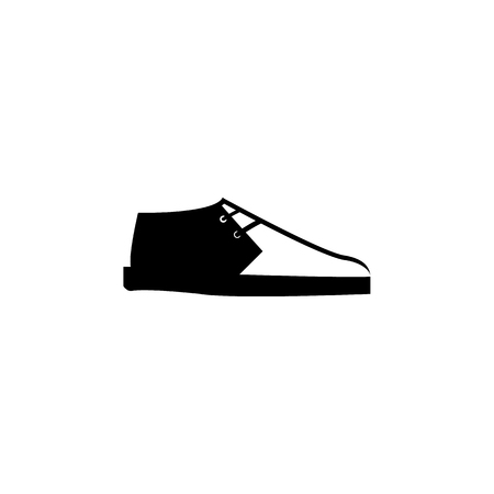 trainers shoes icon on white background