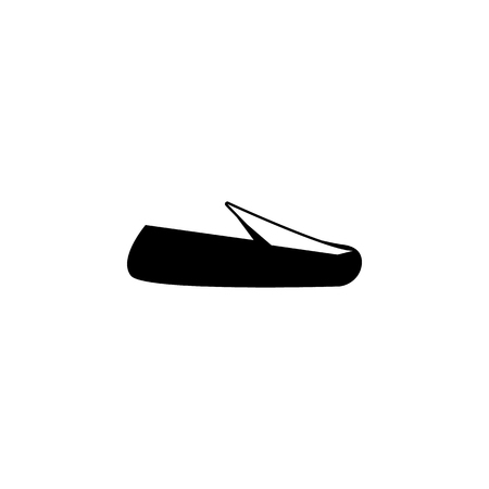 espadrilles plimsolls shoes icon on white background