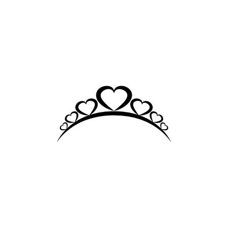 Diadem icon. Diadem element icon. Premium quality graphic design icon. Baby Signs, outline symbols collection icon for websites, web design, mobile on white background