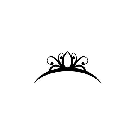 Diadem icon, premium quality graphic design icon. Baby signs, outline symbols collection icon for websites, web design, mobile on white background. Ilustração