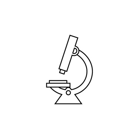 Modern microscope line icon. Element of Medicine tools Icon. Premium quality graphic design. Signs, symbols collection, simple icon for websites, web design, mobile app on white background