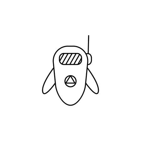 Tiny Robot icon Element of popular robot icon.