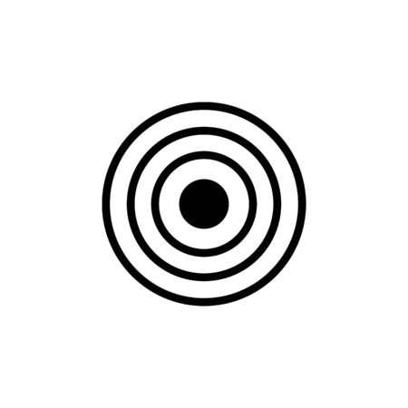 target icon. Element of web icons. Premium quality graphic design icon. Signs and symbols collection icon for websites, web design, mobile app on white background Archivio Fotografico - 133149438