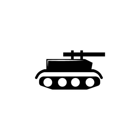 tank, gun icon. Element of military illustration. Signs and symbols icon for websites, web design, mobile app on white background